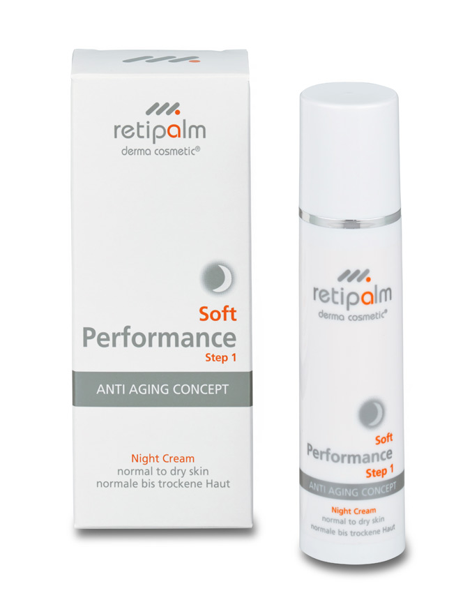 Night Cream Dry Skin Soft Performance, 50ml.